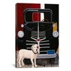 "<strong>iCanvasArt</strong> ""Virgil in Front of the Ranch Truck"" Canvas Wall Art by Jan Panico"