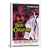 iCanvasArt The She Creature Vintage Movie Poster Canvas Print Wall Art