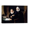 iCanvas 'The Shipbuilder and his Wife' by Rembrandt Painting Print on Canvas