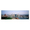 iCanvasArt Panoramic Skyscrapers in a City, Baltimore, Maryland Photographic Print on Canvas
