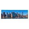 <strong>iCanvasArt</strong> Panoramic Lower Manhattan, Manhattan, New York City, New York State, 2011 Photographic Print on Canvas