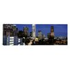 <strong>iCanvasArt</strong> Panoramic Skyscrapers in a City, City of Los Angeles, Los Angeles County, California Photographic Print on Canvas