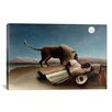 iCanvas 'Sleeping Gypsy 1897' by Henri Rousseau Painting Print on Canvas