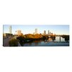 iCanvas Panoramic Skyscrapers in a City, Lamar Street Pedestrian Bridge, Austin, Texas Photographic Print on Canvas