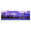 iCanvas Panoramic Sunset Chicago, Illinois Photographic Print on Canvas