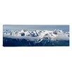 iCanvasArt Panoramic Snow Covered Mountains, Hurricane Ridge, Olympic National Park, Washington State Photographic Print on Canvas