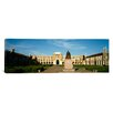 iCanvasArt Panoramic Statue in the Courtyard of an Educational Building, Rice University, Houston, Texas Photographic Print on Canvas