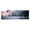 iCanvasArt Panoramic North Avenue Beach, Chicago, Illinois Photographic Print on Canvas