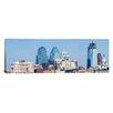 iCanvasArt Panoramic Skyscrapers in a City, Philadelphia, Philadelphia County, Pennsylvania Photographic Print on Canvas