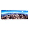 iCanvas Panoramic 'Skyscrapers in a City, Manhattan, New York City, 2011' Photographic Print on Canvas
