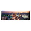 iCanvas Panoramic The Strip Las Vegas Nevada Photographic Print on Canvas