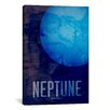 iCanvasArt 'The Planet Neptune' by Michael Tompsett Graphic Art on Canvas