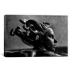iCanvasArt Photography Statue in London Graphic Art on Canvas