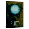 iCanvasArt 'The Planet Pluto' by Michael Tompsett Graphic Art on Canvas
