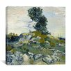 "iCanvasArt ""The Rocks"" Canvas Wall Art by Vincent Van Gogh"