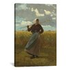 <strong>iCanvasArt</strong> 'The Return of The Gleaner 1867' by Winslow Homer Painting Print on Canvas