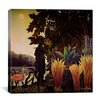 "iCanvas ""The Snake Charmer"" Canvas Wall Art by Henri Rousseau"