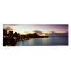 iCanvas Panoramic Sunrise at Waikiki Beach Honolulu, Hawaii Photographic Print on Canvas