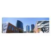 <strong>iCanvasArt</strong> Panoramic Street Art at Downtown Kansas City, Missouri Photographic Print on Canvas