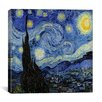 "iCanvasArt ""The Starry Night"" Canvas Wall Art by Vincent Van Gogh"