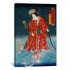 iCanvas Japanese Art 'Sawamura Tanosuke Iii'  Painting Print on Canvas by Kunisada