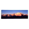 iCanvas Panoramic Sunset Mount Rainier Seattle, Washington Photographic Print on Canvas