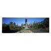 iCanvasArt Panoramic Paul Revere Statue, Boston Public Garden, Boston, Suffolk County, Massachusetts Photographic Print on Canvas