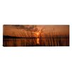 iCanvas Panoramic Sunset over a Lake, Lake Travis, Austin, Texas Photographic Print on Canvas