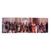iCanvasArt 'School of Athens' (Panoramic) by Raphael Painting Print on Canvas