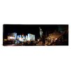 iCanvas Panoramic Statue in front of a hotel, Excalibur Hotel and Casino, The Las Vegas Strip, Nevada Photographic Print on Canvas