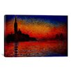 iCanvas 'Sunset' by Claude Monet Painting Print on Canvas