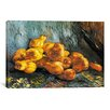 iCanvasArt 'Still Life with Pears' by Vincent Van Gogh Painting Print on Canvas