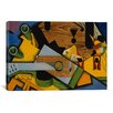 iCanvas 'Still Life with a Guitar, 1913' by Juan Gris Painting Print on Canvas