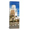 <strong>iCanvasArt</strong> Panoramic San Xavier Del Bac Tucson AZ Photographic Print on Canvas