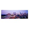 iCanvas Panoramic Skyscrapers in a City at Dusk, Fort Worth, Texas Photographic Print on Canvas