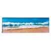iCanvas Panoramic Surf Fountains Big Makena Beach Maui, Hawaii Photographic Print on Canvas