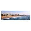 iCanvas Panoramic Surf on the Beach, Santa Monica Beach, Santa Monica, Los Angeles County, California Photographic Print on Canvas
