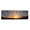 iCanvasArt Panoramic Sunset over the Pacific Ocean, Kealakekua Bay, Kona Coast, Kona, Hawaii Photographic Print on Canvas