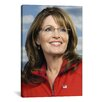 iCanvas Political Sarah Palin Portrait Photographic Print on Canvas