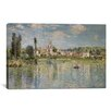 iCanvas 'Vetheuil in Summer 1880' by Claude Monet Painting Print on Canvas