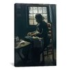 <strong>iCanvasArt</strong> 'Woman Sewing' by Vincent Van Gogh Painting Print on Canvas