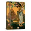 iCanvas 'The Month of Mary (Te Avae No Maria)' by Paul Gauguin Painting Print on Canvas