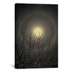 <strong>iCanvasArt</strong> 'The Moon is the North Wind's Cookie' by Geoffrey Ansel Agrons Photographic Print on Canvas