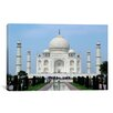 <strong>iCanvasArt</strong> Taj Mahal Photographic Print on Canvas