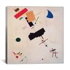 "iCanvas ""Suprematist Composition No.56, 1916"" Canvas Wall Art by Kazimir Malevich"