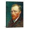 iCanvas 'Self Portrait, 1887' by Vincent Van Gogh Painting Print on Canvas
