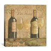 "iCanvasArt ""Vineyard Flavor I"" Canvas Wall Art by Daphne Brissonnet"