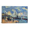 iCanvas 'Seine at Bercy' by Paul Cezanne Painting Print on Canvas
