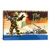 <strong>iCanvasArt</strong> The Invisible Boy Vintage Movie Poster Canvas Print Wall Art