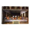 <strong>iCanvasArt</strong> 'The Last Supper' by Leonardo Da Vinci Painting Print on Canvas